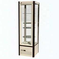 Холодильная витрина Carboma R400Свр (бежевый)