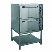 Шкаф жарочный ШЖЭ-2-К-2/1 духов. GN 2/1, конвекция, пароувлажн., подст.