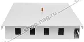 Кросс оптический настенный (ШКОН), до 4SC портов