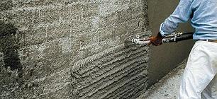Штукатурка для стен цементная