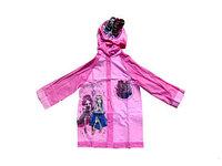 Дождевик детский из непромокаемой ткани с капюшоном (Монстр Хай) размер XL