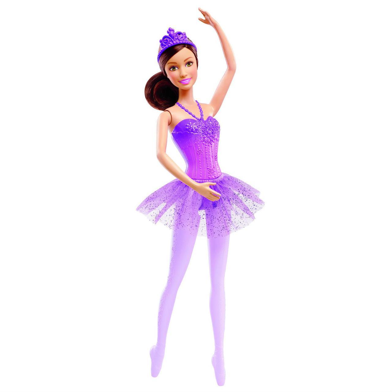 Barbie Кукла Барби - Балерина, Брюнетка в фиолетовой пачке