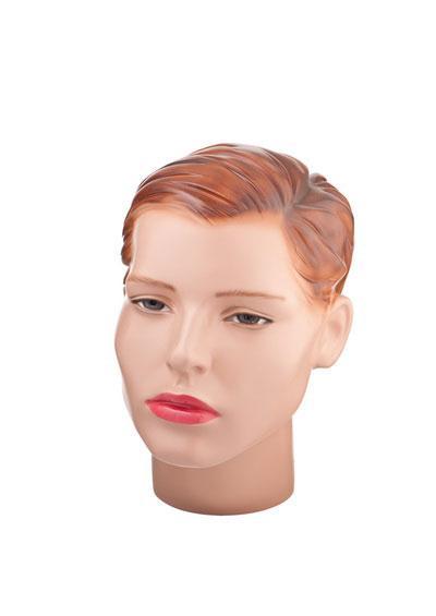 Голова женского манекена Марфа