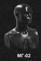 Голова-манекен мужская МГ-02