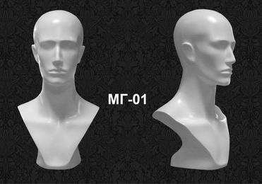 Голова-манекен мужская МГ-01