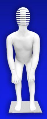"""Детский манекен для одежды """"Дети - ЭТИ"""" ЭВ-4"""