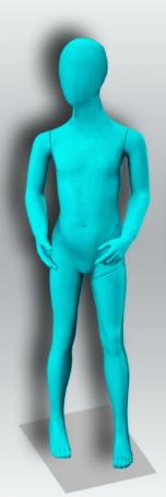 """Детский манекен для одежды """"Настроение"""" НВ-8"""
