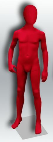 """Детский манекен для одежды """"Настроение"""" НC-12"""