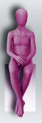 """Детский манекен для одежды """"Настроение"""" НК-8"""