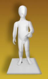 "Детский манекен для одежды ""Нахаленок"" НВФ-1,5"