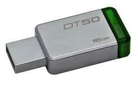 USB Флеш 16GB 3.0 Kingston DT50/16GB металл