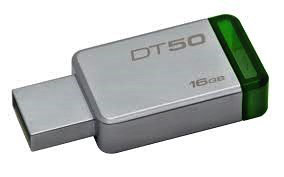 USB Флеш 16GB 3.0 Kingston DT50/16GB металл, фото 2