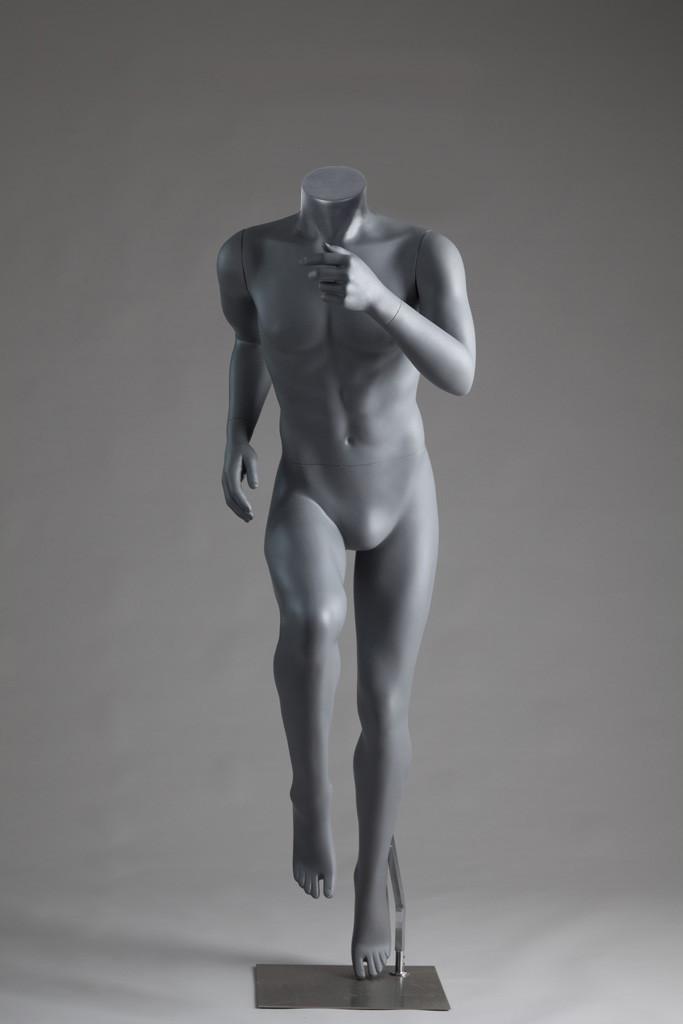 Мужской манекен для одежды М5-СпортХит безголовый