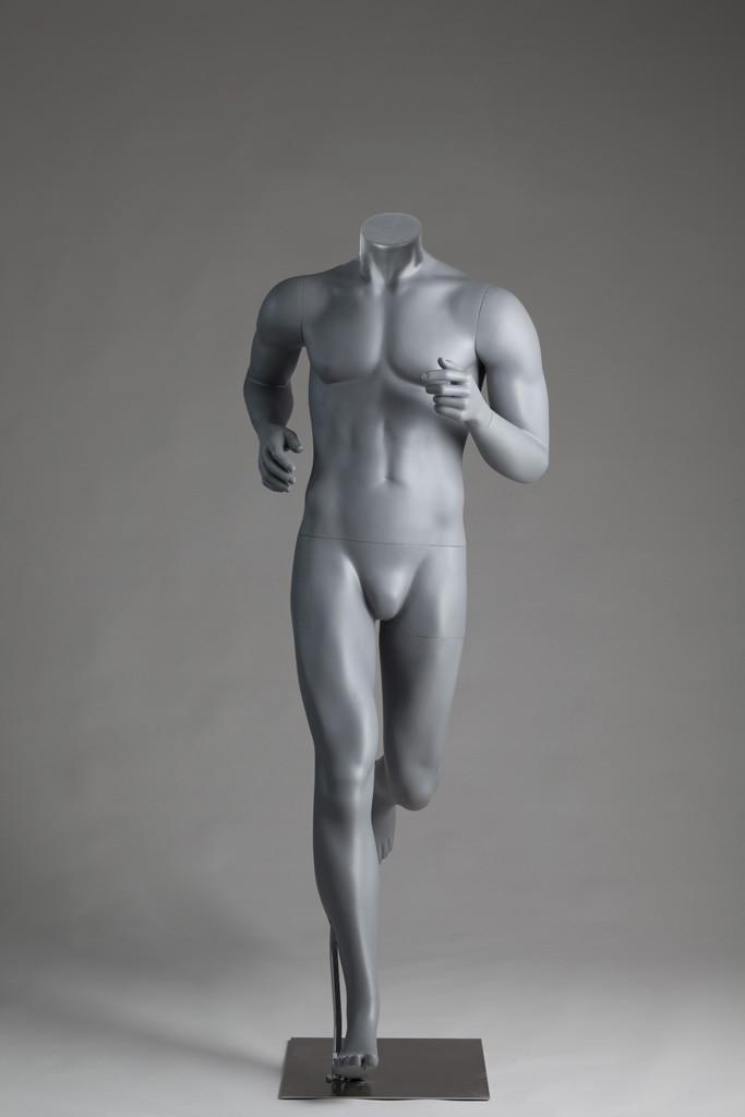 Мужской манекен для одежды М6-СпортХит безголовый