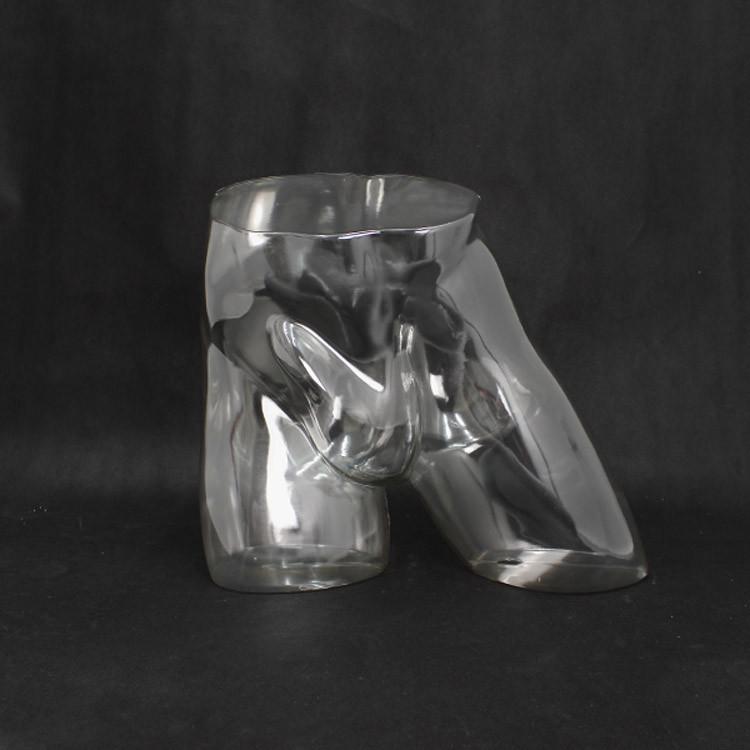 Манекен мужские бедра прозрачные «В движении» 02 - DTMHP-002