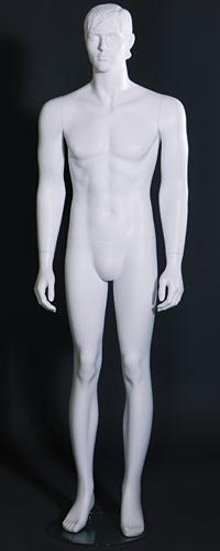 """Мужские манекены для одежды """"CLASSIC WHITE"""" MNSP.017.WH"""