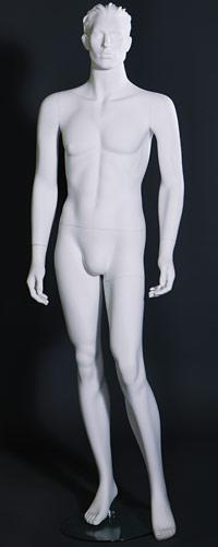 """Мужские манекены для одежды """"CLASSIC WHITE"""" MNSP.027.WH"""