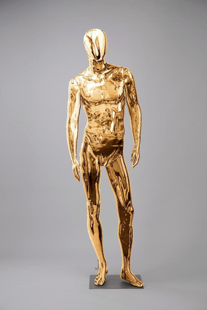 """Мужские манекены для одежды """"Блестящие-Золото 1"""""""