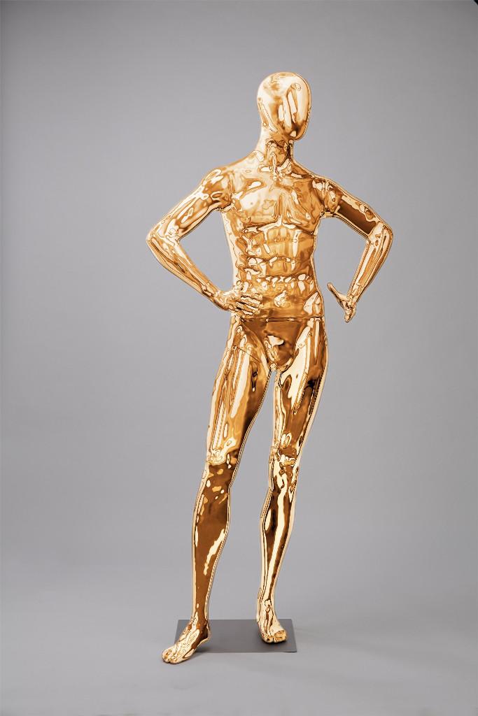 """Мужские манекены для одежды """"Блестящие-Золото 5"""""""