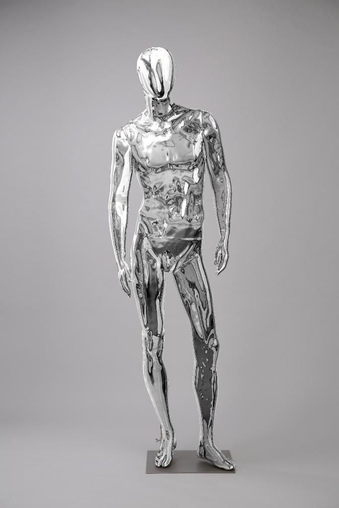 """Мужские манекены для одежды """"Блестящие-Хром 1"""""""