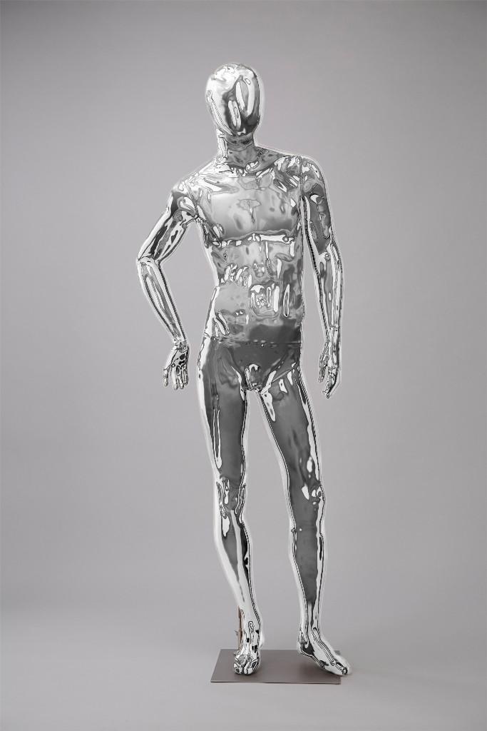 """Мужские манекены для одежды """"Блестящие-Хром 4"""""""