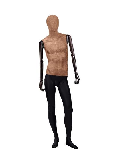 """Мужские тканевые манекены """"Ностальжи"""" с деревянными руками"""