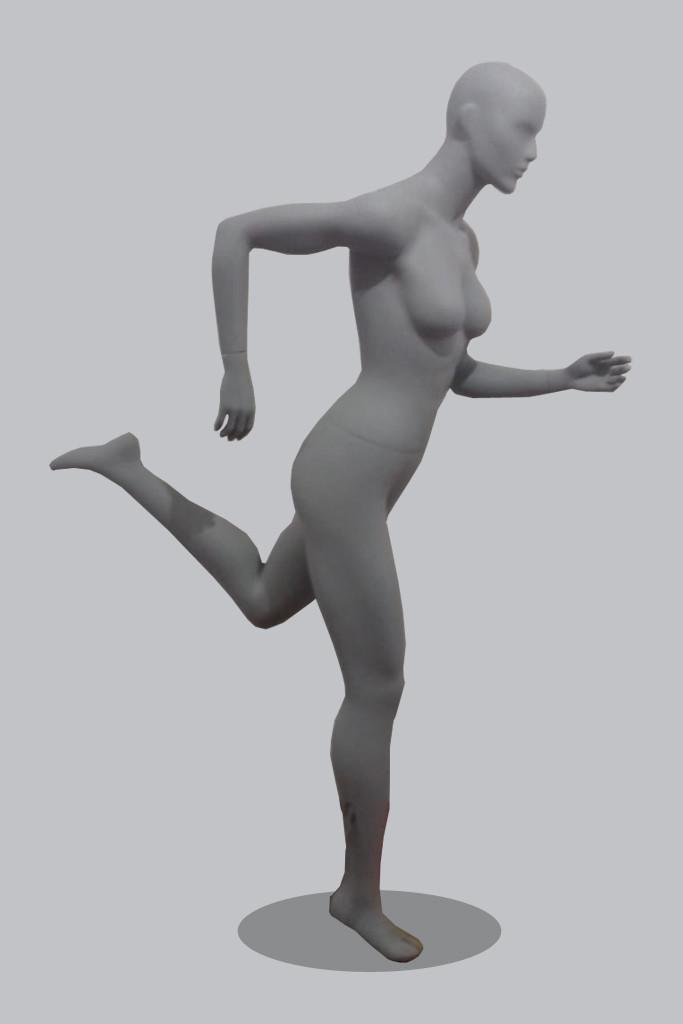 Манекен для одежды женский Ж5-СпортХит