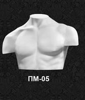 """Мужские манекены полуторсы для одежды """"Четверть"""" ПМ-05"""