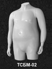 Манекен-торс для одежды мужской  XXL ТСБМ 02