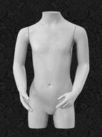 Манекен-торс для одежды  детский ТДДФ8-01