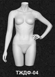 Манекен-торс для одежды  женский 04