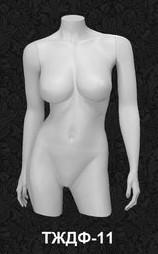 Манекен-торс для одежды  женский 11