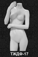 Манекен-торс для одежды  женский 17