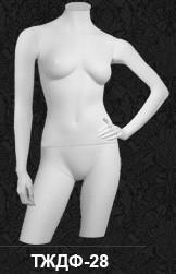 Манекен-торс для одежды  женский 28