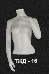 Манекен-торс для одежды  женский ТЖД-16