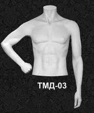 Манекен-торс для одежды  мужской ТМД 03