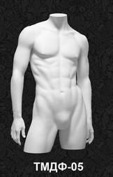 Манекен-торс для одежды  мужской ТМДФ 05