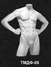 Манекен-торс для одежды  мужской ТМДФ 08