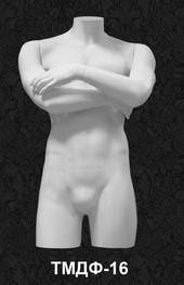 Манекен-торс для одежды  мужской ТМДФ 16