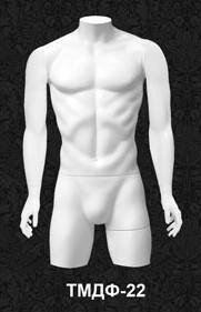 Манекен-торс для одежды  мужской ТМДФ 22