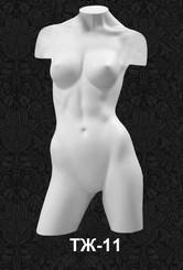 Манекен-торс для одежды женский с плечами 11