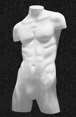 Манекен-торс для одежды мужской с плечами ТМ-05