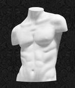 Манекен-торс для одежды мужской с плечами ТМ-06
