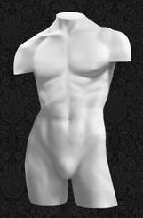 Манекен-торс для одежды мужской с плечами ТМ-09
