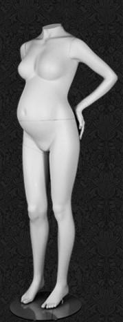 """Манекен беременной женщины для одежды  """"Будущие Мамы"""" ББ-04"""