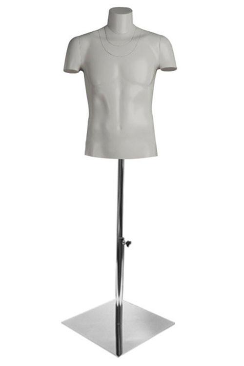 Манекен торс мужской для фотосъемки ФотоХит 2 с подставкой