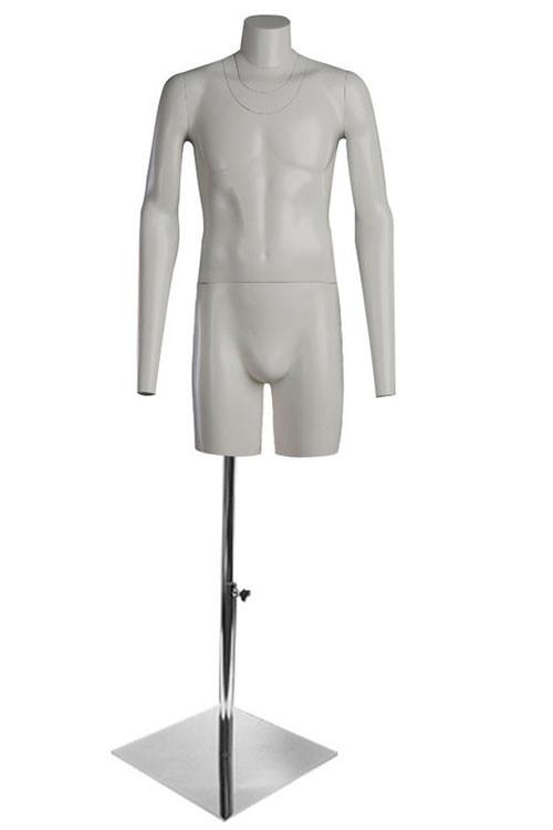 Манекен торс мужской для фотосъемки ФотоХит 1 с подставкой