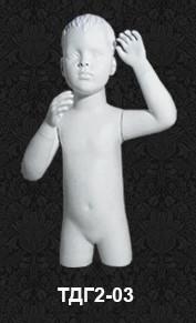 Манекен-торс детский с головой 2-03