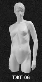 Манекен-торс женский с головой 06