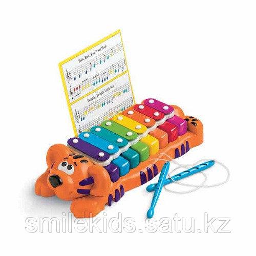 Музыкальная игрушка Тигр пианино-ксилофон 2 в1